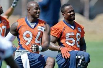 Von Miller Reveals Nickname for He and DeMarcus Ware