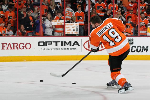 Philadelphia Flyers Lose Talent but Gain Versatility in Hartnell-Umberger Trade