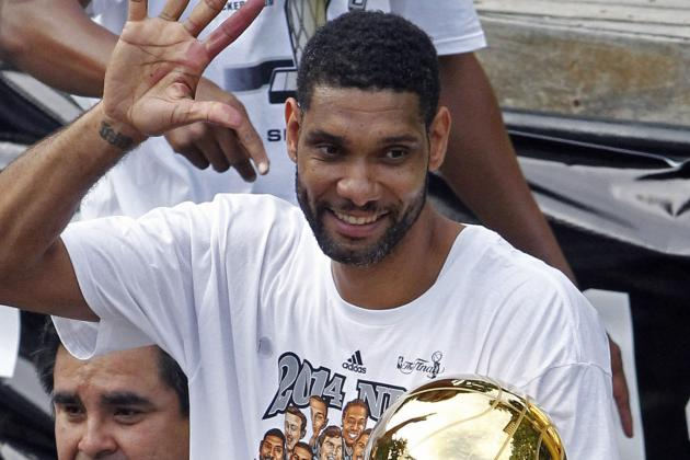 NBA Rumors: Tim Duncan May Sign Two-Year Deal with Spurs