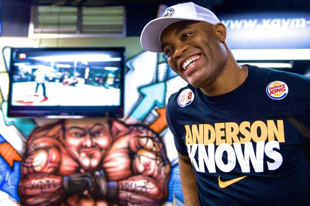 Anderson Silva Cleared to Spar, May Have to Overcome 'Mental Block'