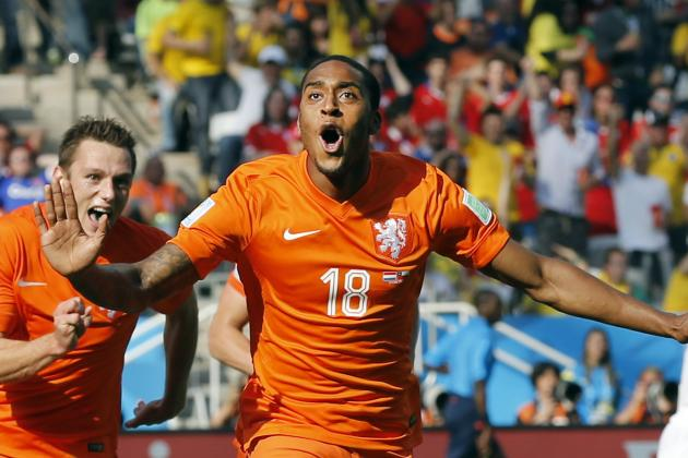 Netherlands vs. Chile: Live Player Ratings