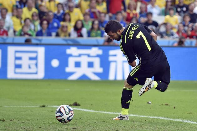 Twitter Reacts to David Villa, Fernando Torres' Performances vs. Australia