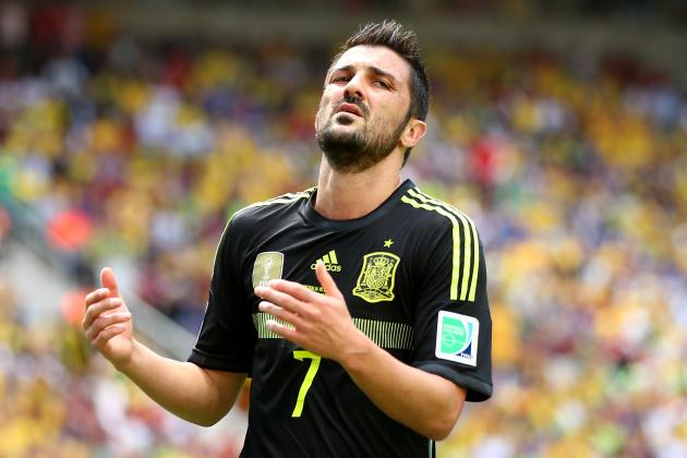 Bell Tolls for David Villa's Glittering International Career with Spain