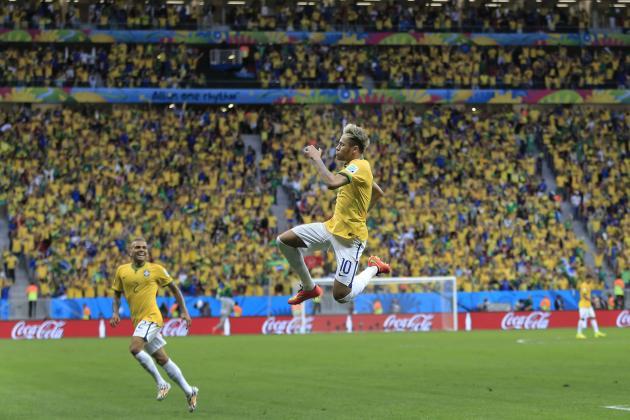 Twitter Reacts to Neymar, Hulk and David Luiz's Performances vs. Cameroon