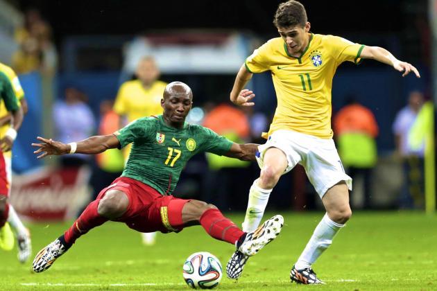 Cameroon vs. Brazil: Scolari Restores Midfield Balance to Help Neymar Prosper