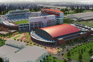 New Ole Miss Basketball Arena Will Be Built by BL Harbert International