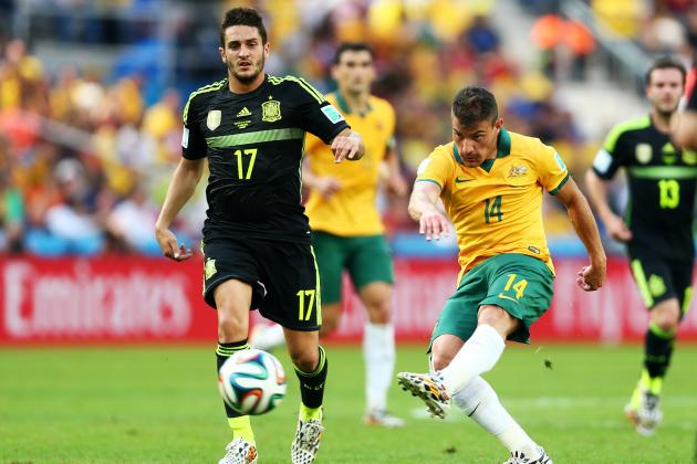 Australia vs. Spain: Both Sides Rebuilding, Have Long Roads Ahead