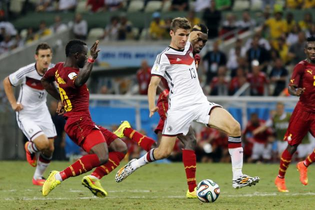 Hatching a Plan for USA to Shackle Germany Scoring Machine Thomas Mueller