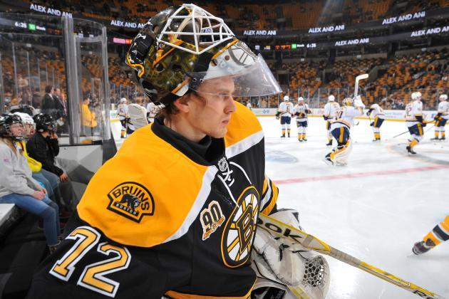 Bruins Sign 'Good Competitor' Goalie Svedberg
