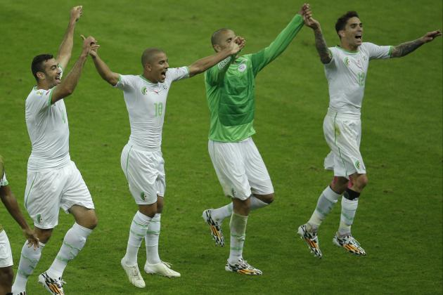 Algeria Beats South Korea 4-2 for 1st Win in World Cup Since 1982