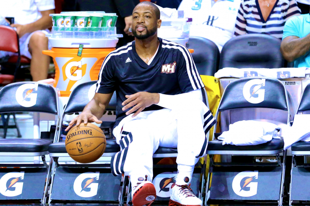 Miami Heat 'Fast 5': D-Wade Sixth Man? Pat Riley's Recruiting Challenge and More