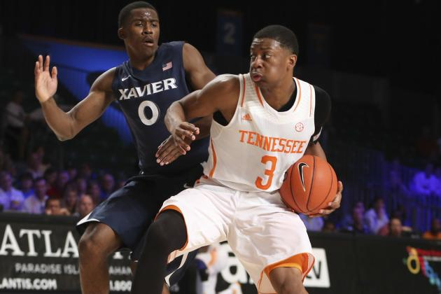 Tennessee's Robert Hubbs III Cleared for Full-Contact Drills