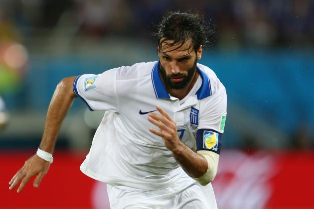 Greece vs. Ivory Coast: Tactical Preview of World Cup Group C Match