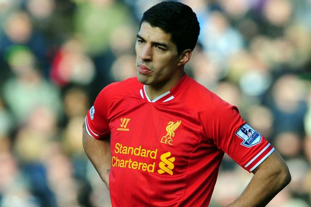 Luis Suarez Told to Quit Liverpool as Barcelona Target Aims Dig at British Media