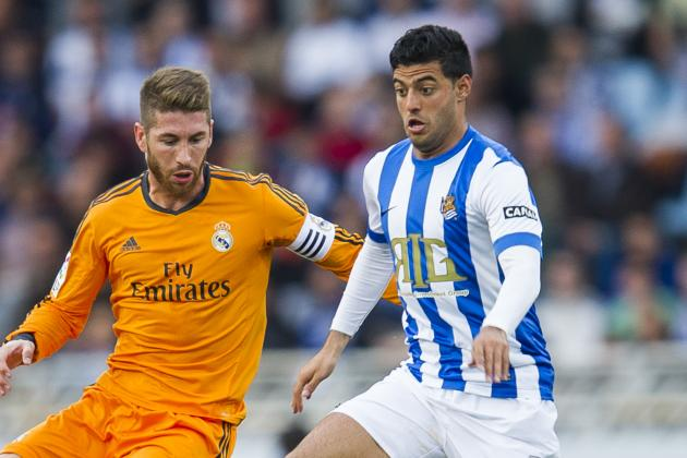 Carlos Vela Extends Contract with Real Until 2018
