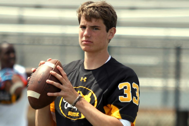 Jack Allison Commits to Miami: Hurricanes Land 2016 4-Star QB