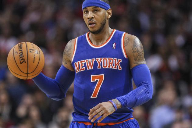 Melo Wouldn't Be Good Fit for Rockets