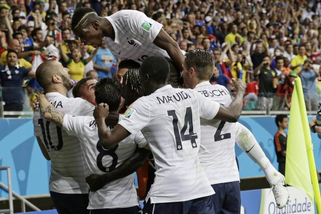 Ecuador vs. France: Date, Time, Live Stream, TV Info and 2014 World Cup Preview