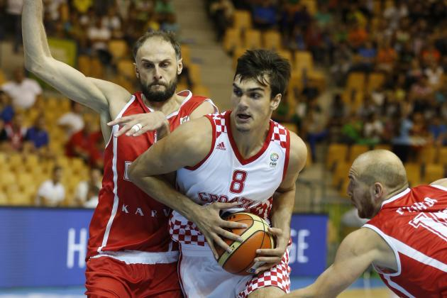Dario Saric Staying in Europe Only Minor Hindrance to 2014 NBA Draft Stock