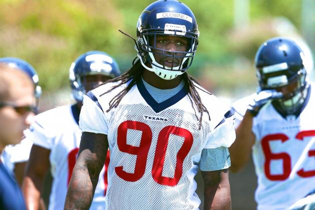Should Texans Worry About Jadeveon Clowney's Health Heading into Training Camp?
