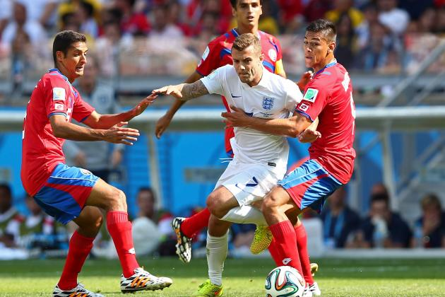 Costa Rica vs. England: Live Player Ratings