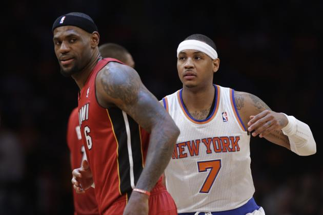 For LeBron James and Carmelo Anthony, Opting out Was a Financial No-Brainer