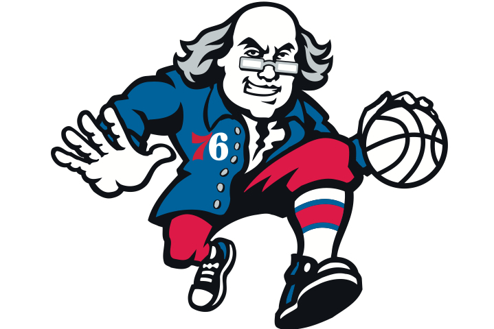 Philadelphia 76ers to Sell Merchandise Featuring a Balling Benjamin Franklin