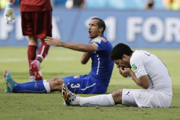 Twitter Reacts to Luis Suarez, Diego Godin's Performances vs. Italy