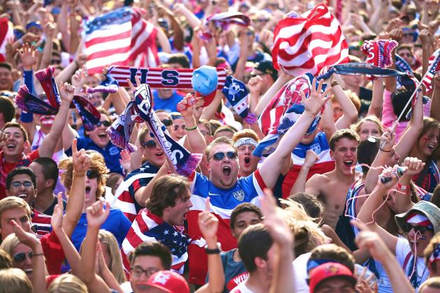 World Cup Ratings Show America Loves Big Events...And Yes, Soccer Too