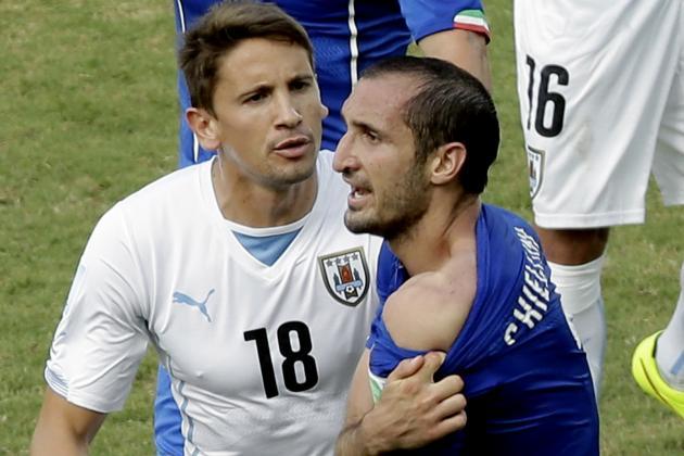 Chiellini: 'FIFA Protect Suarez'