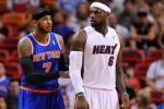 Report: 3 Teams Eye LeBron-Melo Pairing