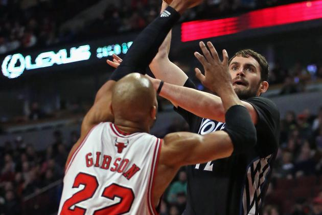 NBA Trade Rumors: Chicago Bulls Offering Gibson, Draft Picks for Love