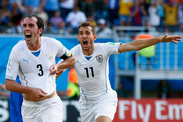 World Cup Results 2014: Tracking Final Scores, Golden Boot Contenders for Day 13