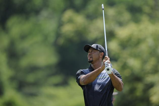 Projecting Tiger Woods' Return from Back Injury at 2014 Quicken Loans National