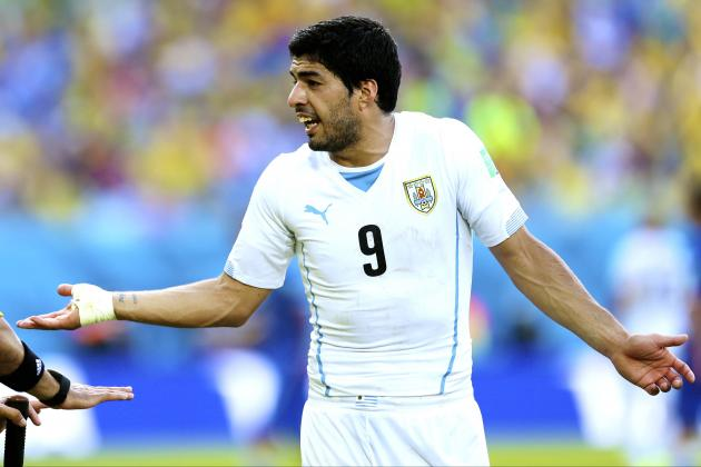 Collymore's World Cup Corner: Suarez Should Be Punished but Also Treated