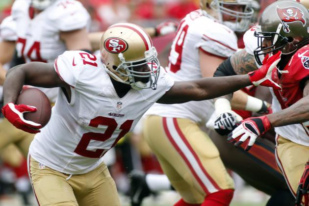 Frank Gore: RB Depth Shows Strength of Roster