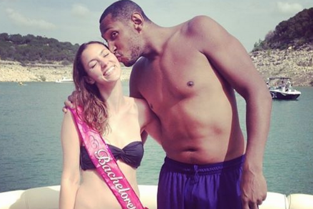Spurs' Boris Diaw Swims Across a Lake to Crash a Bachelorette Party