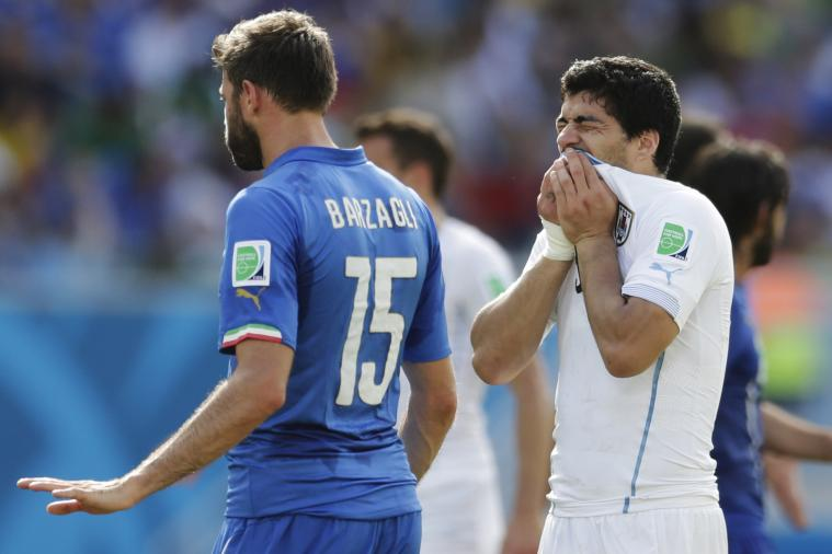 Wrong 'Suarez' Abused on Twitter After Luis Suarez Bites Giorgio Chiellini