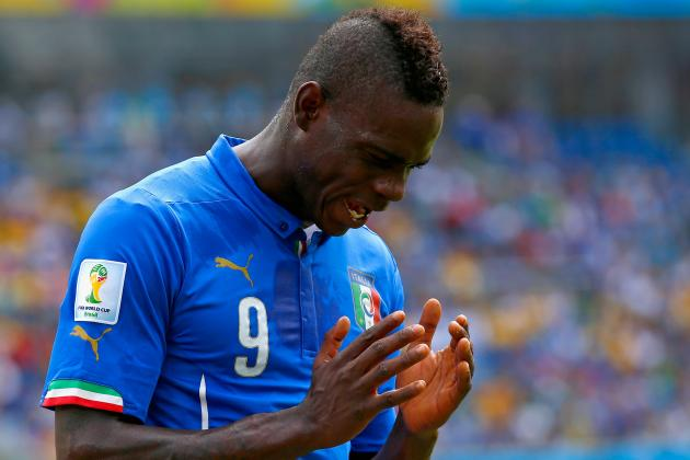 Italy vs. Uruguay: Forget Suarez Biting, Mario Balotelli Left Azzurri Toothless