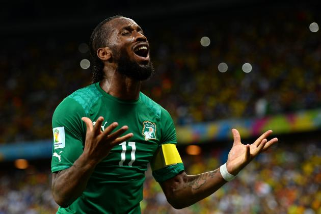 Twitter Reacts to Didier Drogba, Yaya Toure's Performances vs. Greece