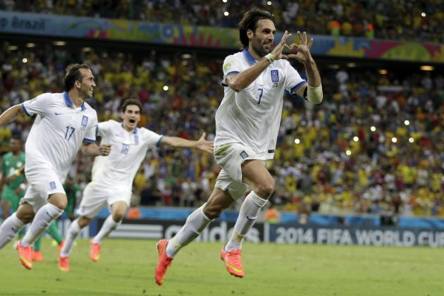 Twitter Reacts to Georgios Samaras' Goal to Send Greece to Knockout Stage