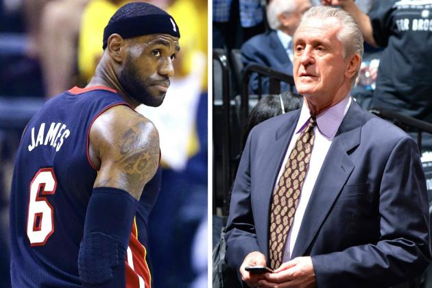 LeBron James, with Opt-out Decision, Shifts the Burden to Pat Riley