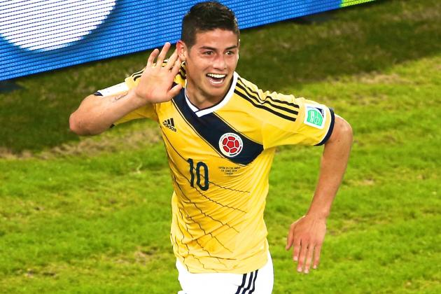 Japan vs. Colombia: James Rodriguez and Jackson Martinez Star on the Counter