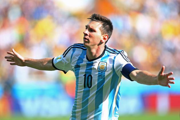 Nigeria vs. Argentina: Live Score, Highlights for World Cup 2014 Group F Game