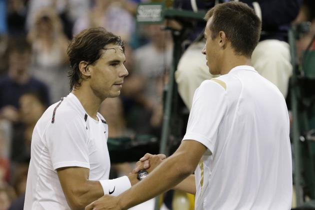 Wimbledon 2014: Rafael Nadal Looks for 2nd-Round Revenge Against Lukas Rosol