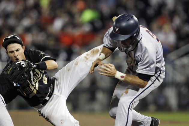 College World Series 2014: TV Info and Prediction for UVA vs. Vanderbilt Game 3