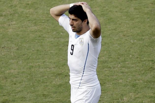 Luis Suarez Bite: FIFA Rules and How World Cup Incident Might Affect Liverpool