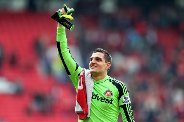 Mannone Denies Claims He Will Quit Sunderland