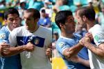 Did Suarez Try to Bite Chiellini Before?