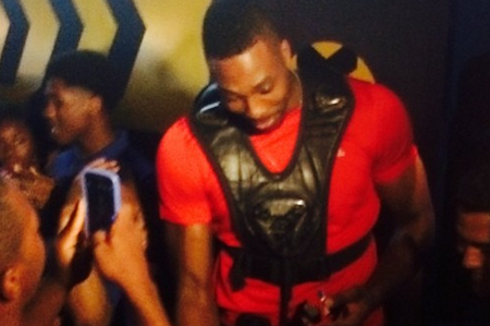 Dwight Howard Treats Fans to Free Game of Laser Tag